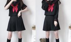 为什么日本的校服越来越。。